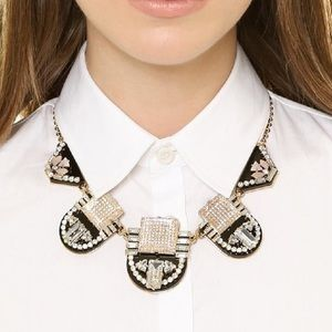 Kate Spade Imperial Tile Statement Necklace.